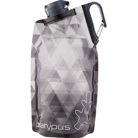 Platypus DuoLock Gourde souple 750ml, gray prisms